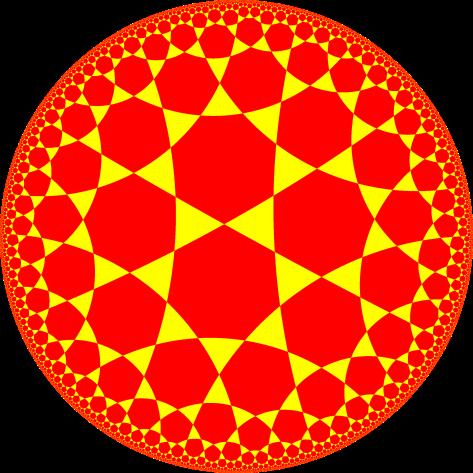 Triheptagonal tiling