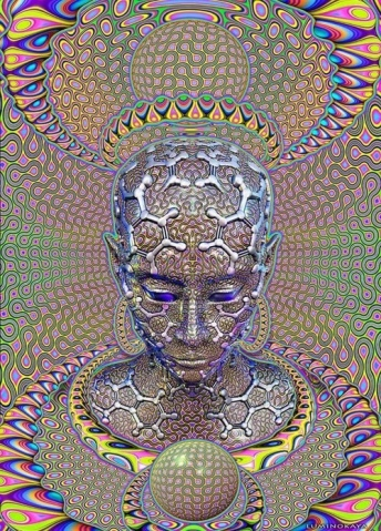 The Hyperbolic Geometry of DMT Experiences: Symmetries