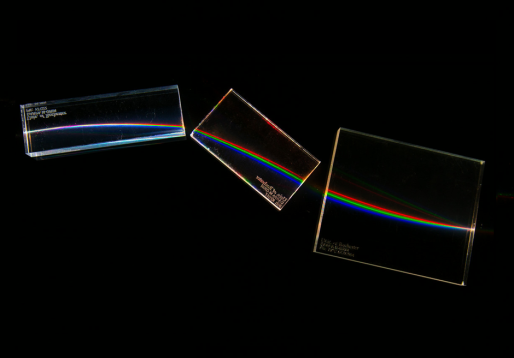 Broad-Spectrum Gradient-Index Refraction