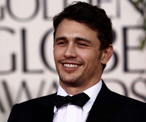 Actor James Franco arrives at the Golden Globe Awards Sunday, Jan. 16, 2011, in Beverly Hills, Calif. (AP Photo/Matt Sayles)