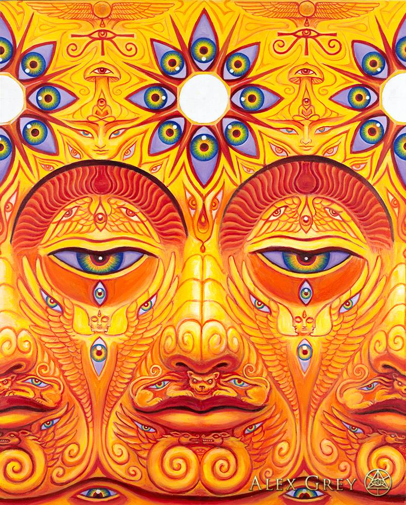 Trippy Psychedelic Eye Painting Demand Exceeding Supply Art